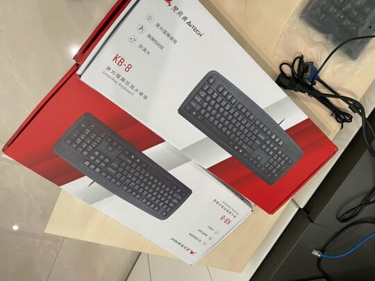 双飞燕KB-8跟联想有线键盘K4800S有啥区别?哪款做工比较好?哪个方便快捷?