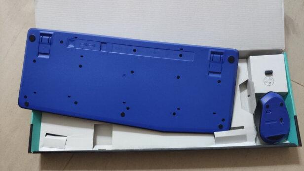 Logitech MK345对比达尔优机械师合金版到底区别明显不,手感哪个更好?哪个按键舒服?