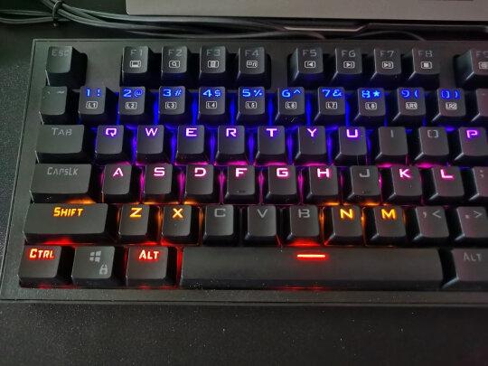 MSI GK50Z 电竞键盘和黑爵守望者Ⅱ 黑色 青轴区别明显不?哪个做工更加好?哪个手感一流?