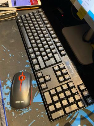 HYUNDAI NK3000跟戴尔KB216键盘(黑色)到底区别明显不?哪个按键比较舒服,哪个功能强大