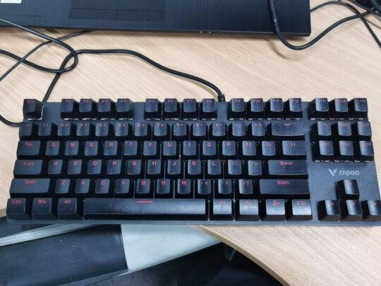 雷柏V500跟双飞燕KB-N9100区别是??哪个按键比较舒服?哪个尺寸合适