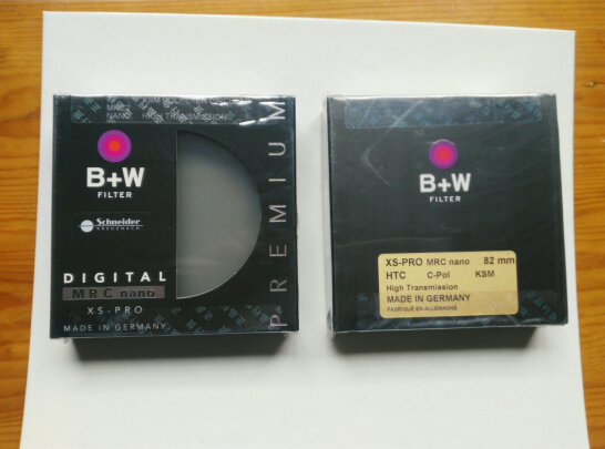 B+W82 MRC NANO KSM XSP CPL怎么样,镜片耐磨吗?