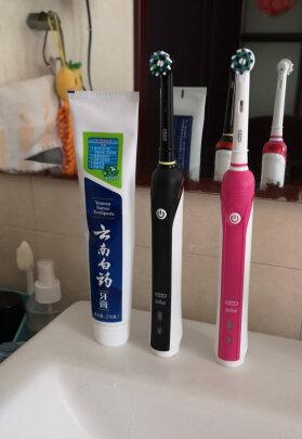 欧乐B P2000粉色和飞利浦HX6806/02区别是?,哪款刷得比较干净?哪个清洁能力强?