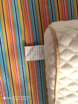佳佰泰国天然乳胶按摩枕究竟怎么样,回弹好吗?尺寸适宜吗