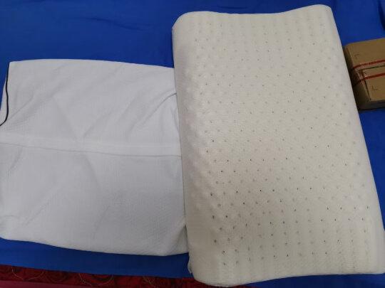 九洲鹿枕头与京东京造泰国天然乳胶枕波浪款究竟区别大不大?弹性哪款更强?哪个优质好用