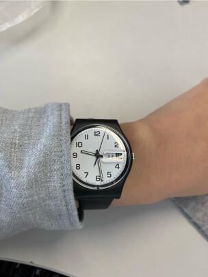 斯沃琪石英中性手表好不好?防水够好吗?声音清脆吗