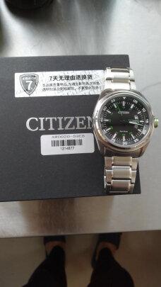西铁城光动能男表对比卡西欧男士手表区别大不大?哪个时间准确,哪个佩戴舒服