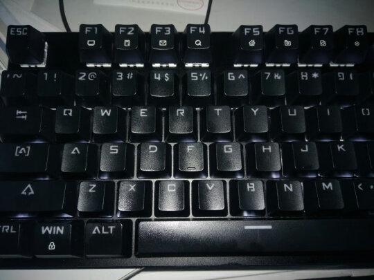 黑爵刺客Ⅱ合金机械键盘AK35i与达尔优108键混光版哪款更好?按键哪个更舒服,哪个声音清亮