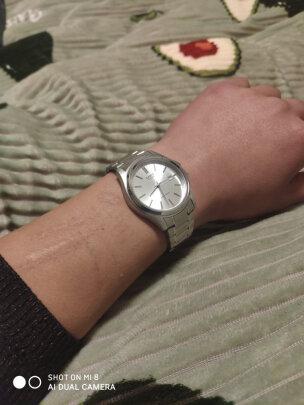卡西欧石英男士手表怎么样,时间准吗,漂亮时尚吗