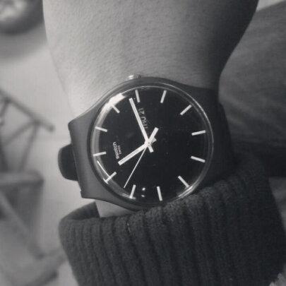 斯沃琪男士手表怎么样?防水强不强?凸显年轻吗?
