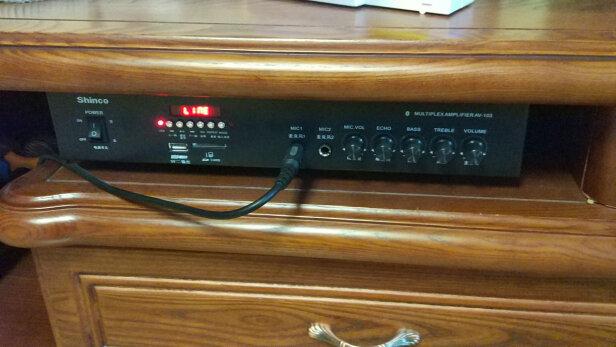 新科AV-103怎么样?功率大吗?保修换新吗