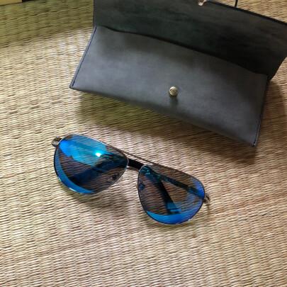 蓝其太阳镜好不好?防紫外效果够好吗?新颖时尚吗