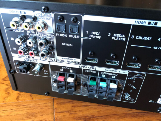 天龙AVR-X550BT究竟靠谱吗,推力大吗,美观大方吗?