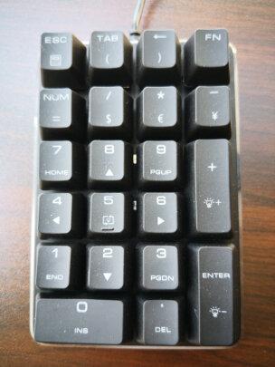 魔蛋21键机械键盘佳达隆茶轴怎么样,手感够不够好,质感一流吗?