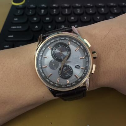 西铁城男士手表怎么样啊?时间精准吗?做工一流吗?