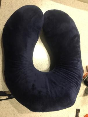 邓禄普U型枕-蓝色好不好?透气性够强吗,气味香纯吗