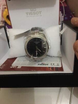 天梭石英男士手表怎么样,佩戴舒适吗?大小合适吗