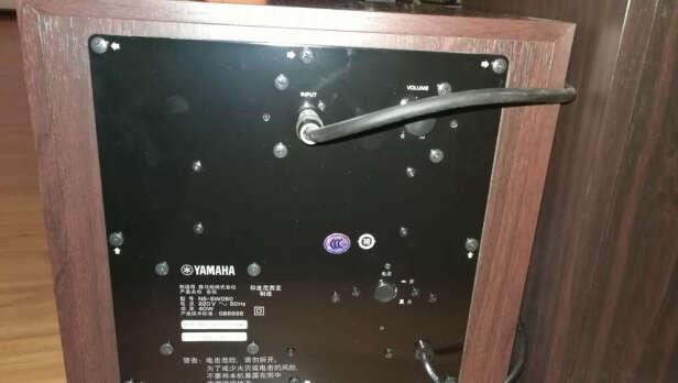 雅马哈NS-SW050怎么样?人声清晰吗?改善显著吗?