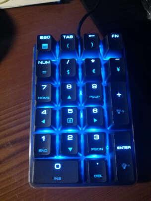 魔蛋21键机械键盘佳达隆茶轴究竟怎么样啊?按键舒服吗?质感一流吗