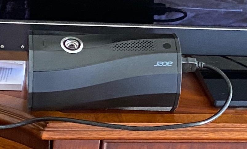 宏碁便携投影仪,1080p高清分辨率款