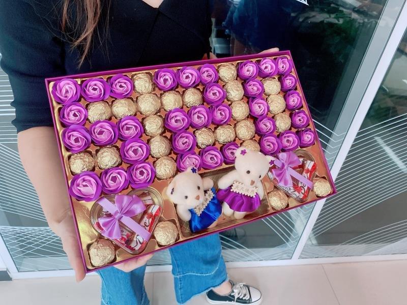 实用创意表白女神礼盒,送女朋友经典情人节礼物
