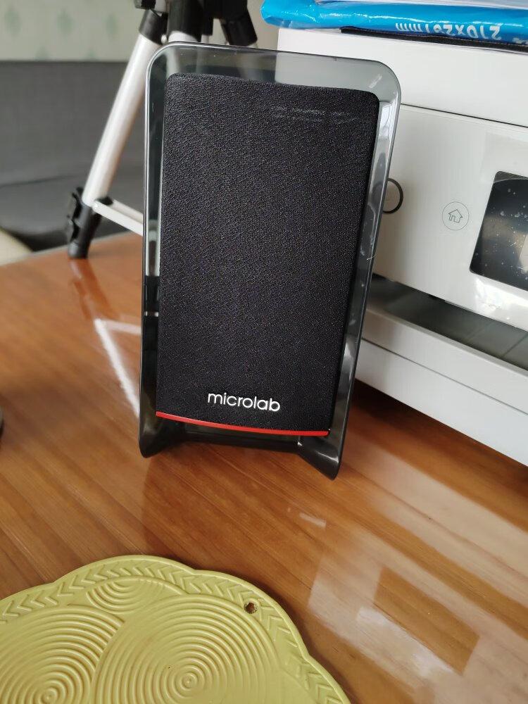 麦博蓝牙版 2.1多媒体有源音箱,经典电脑配件