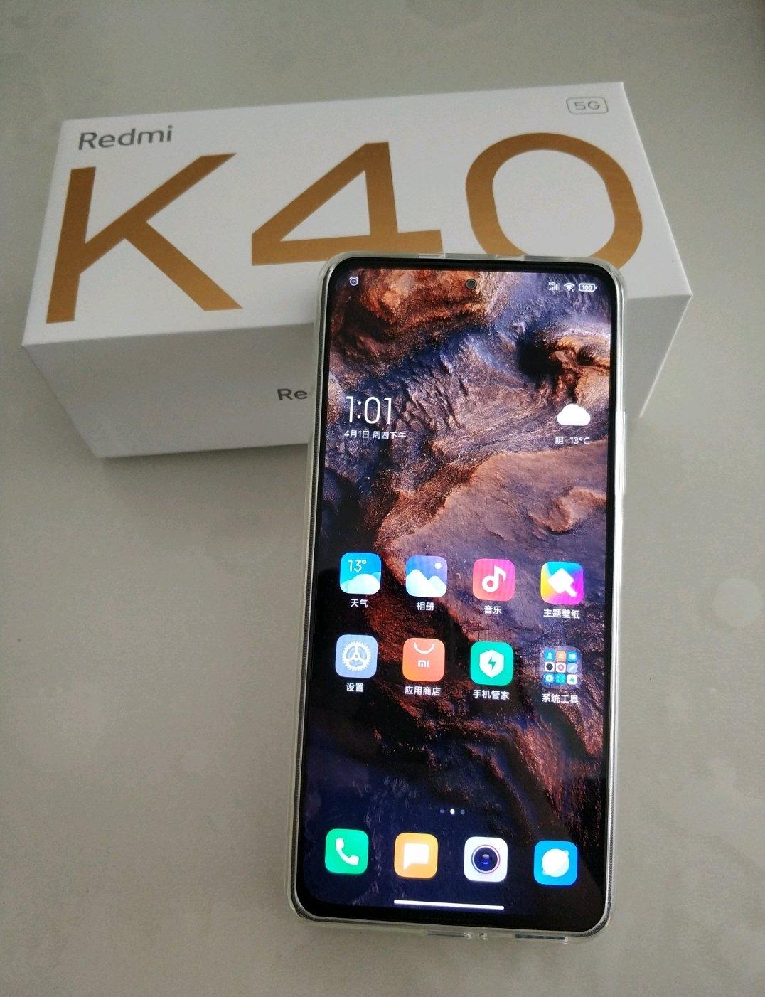 Redmi K40三星E4直屏手机,玩游戏少不了的120Hz高刷