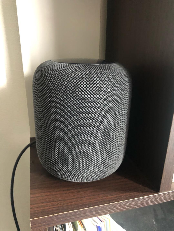 苹果HomePod智能音箱1个低音炮7个环绕高音扬声器