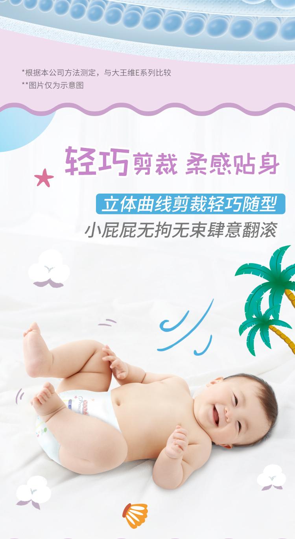 GOO.N®大王 短裤式纸尿裤 夏季短裤轻透系列 L36片