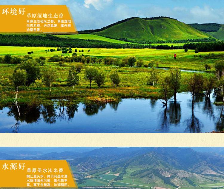 中国华贸 草原五谷香  长粒香米5kg  5公斤 真空包装 国家地理标识产品  绿色产品