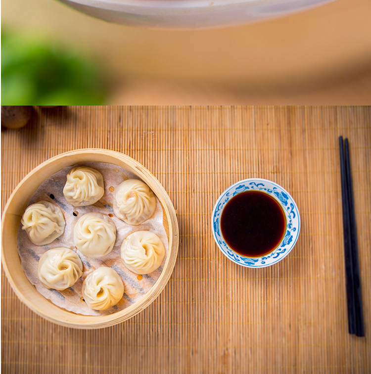 知味观 虾仁三鲜小笼包500g 20只 中华老字号 早餐点心 生鲜面点 手工包子馒头早点