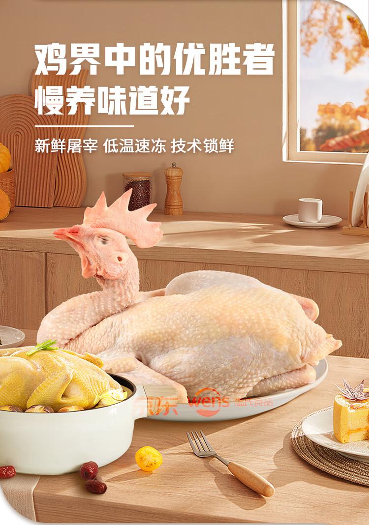 温氏 供港老母鸡 1.4kg 高品质供港鸡 农家散养土鸡走地鸡老母鸡 月子餐月子鸡汤材料 散养500天以上