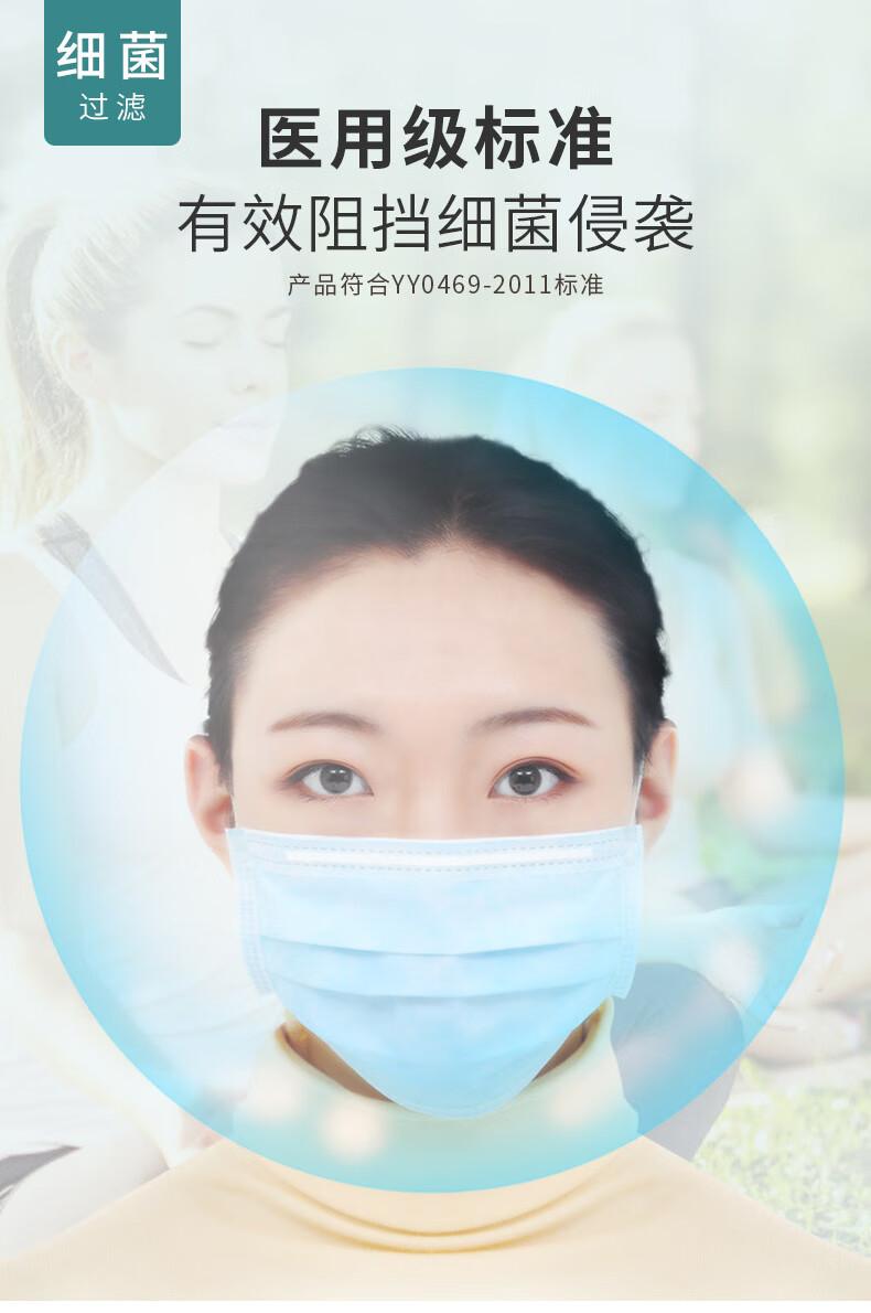 3Q医用外科口罩 10只装 国家重点医疗防护企业 图7
