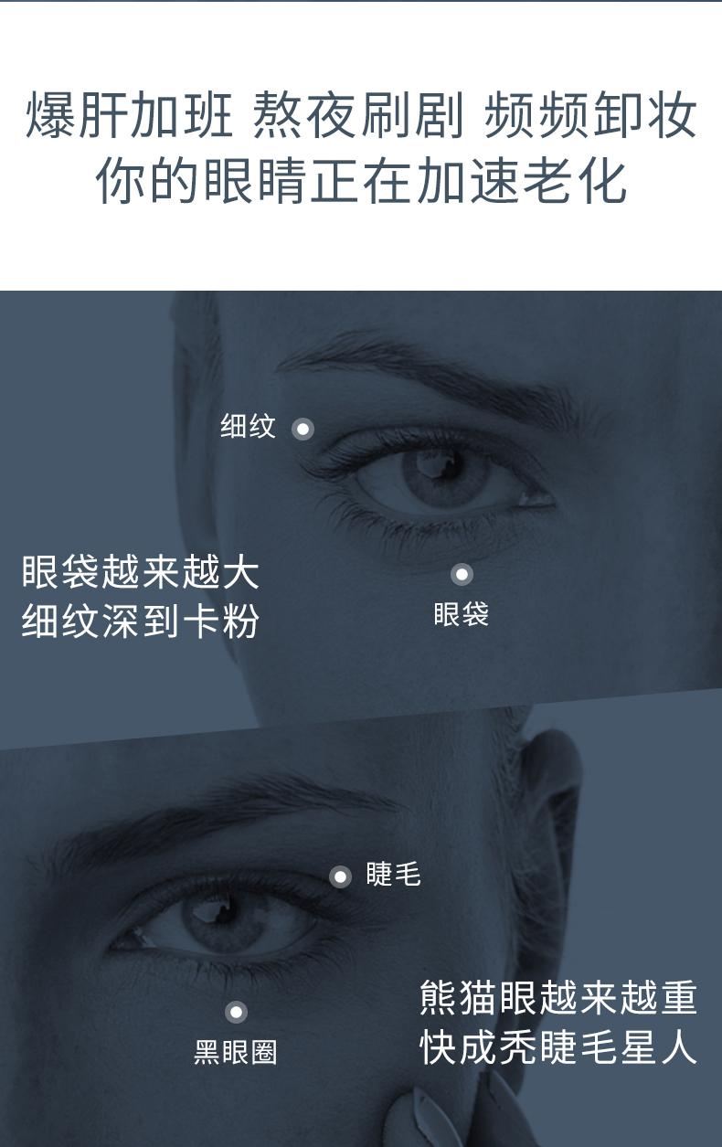 兰蔻(LANCOME)大眼精华小黑瓶眼部肌底精华液20ml化妆品套装护肤淡化黑眼圈礼盒