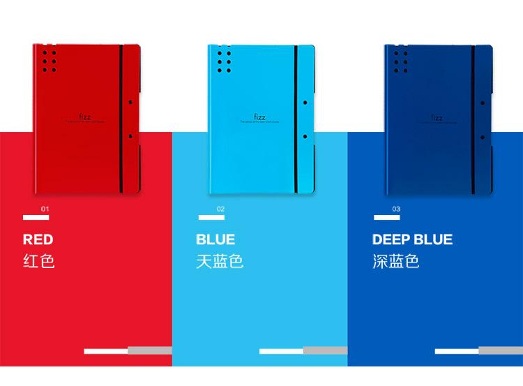 广博(GuangBo)高质感A4加厚试卷夹/文件夹板/档案夹飞兹 深蓝A6382-京东