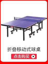 红双喜(DHS)乒乓球台 折叠移动式专业比赛球桌T1223(...-京东