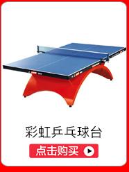 红双喜(DHS) TCH--彩虹乒乓球台(附带高档网架,乒拍...-京东