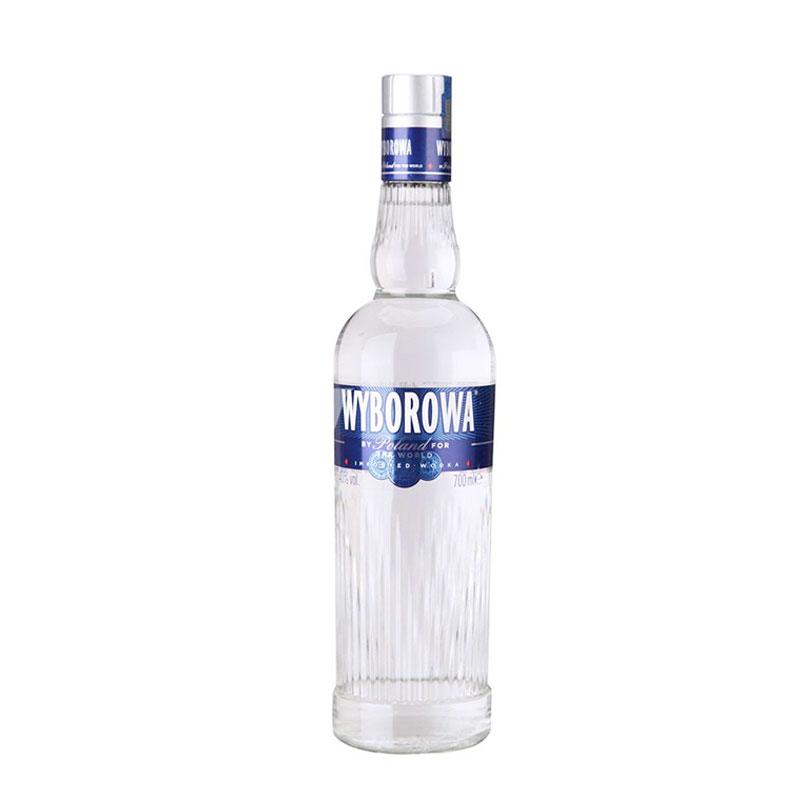 维波罗瓦(WYBOROWA)洋酒 波兰原味伏特加酒 700m...-京东