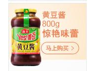 海天 黄豆酱 调味酱豆瓣酱甜面酱 调味料调料800g-京东