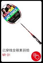 尤尼克斯YONEX羽毛球拍单拍全碳素羽拍NR-D1 红/白已...-京东