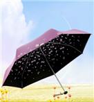 天堂伞 全遮光(UPF50+)丝光绒彩胶五折太阳伞晴雨伞31...-京东