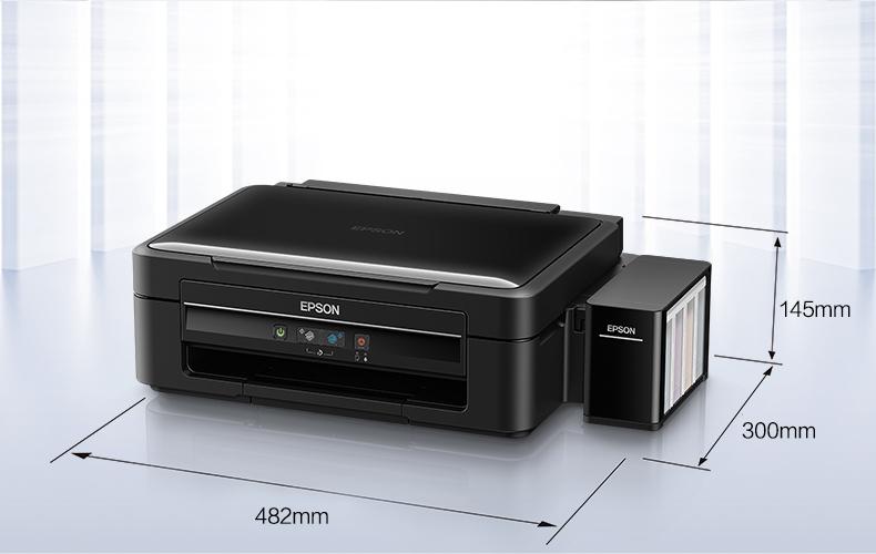 爱普生(EPSON)L383墨仓式打印机 家用彩色喷墨一体机 学生打印 作业打印(打印 复印 扫描)-京东