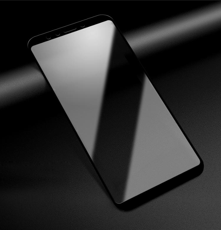 莫凡 小米红米5plus钢化膜红米5plus手机贴膜全屏覆盖防爆高清手机屏幕保护膜 白色-京东
