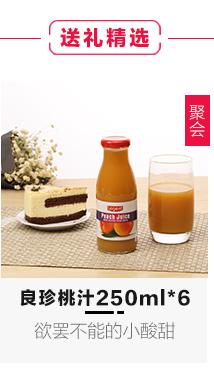 良珍(Legent)桃汁 西班牙进口 果汁饮料饮品 250ml×6/整箱装
