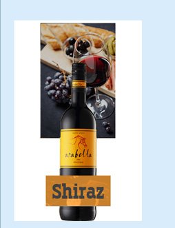 南非进口红酒 艾拉贝拉西拉干红葡萄酒 750ml-京东