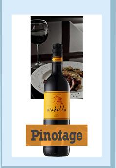 南非进口红酒 艾拉贝拉品乐干红葡萄酒 750ml-京东