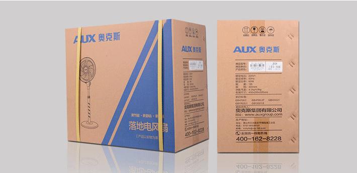奥克斯(AUX)FS-40-A1613 电风扇/酷黑五扇叶落地扇-京东