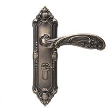 摩登五金(MODERN)室内门锁卧室房门锁欧式青古铜门锁把手...-京东