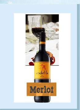 南非进口红酒 艾拉贝拉美乐干红葡萄酒 750ml-京东