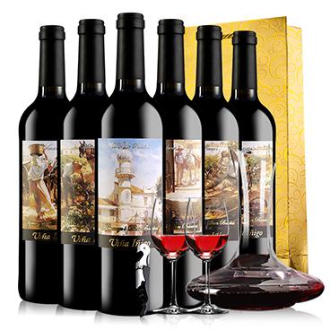 西班牙进口红酒 宜兰树 冰后甜红葡萄酒750ml-京东